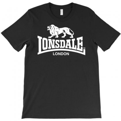 Lonsdale Classic Logo Lion T-shirt Designed By Hezz Art