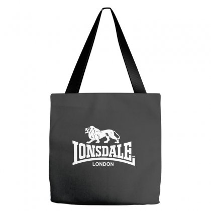 Lonsdale Classic Logo Lion Tote Bags Designed By Hezz Art