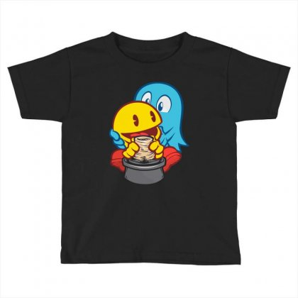 Ghost Magic Toddler T-shirt Designed By Mdk Art