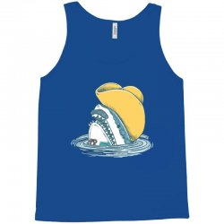 funny hat shark Tank Top | Artistshot