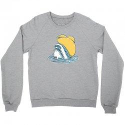 funny hat shark Crewneck Sweatshirt | Artistshot