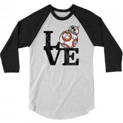 love bb 3/4 Sleeve Shirt   Artistshot