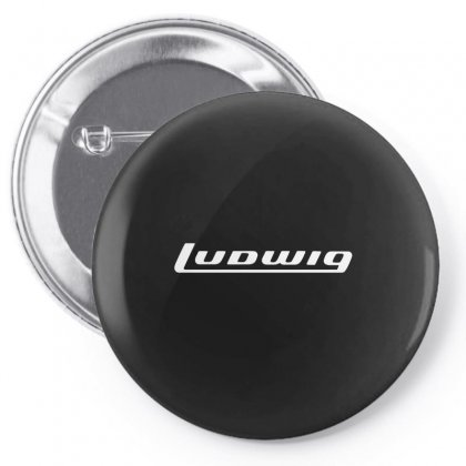 Ludwig Drums Music Instrument Pin-back Button Designed By Hezz Art