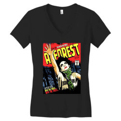 into the trees into the forest Women's V-Neck T-Shirt   Artistshot