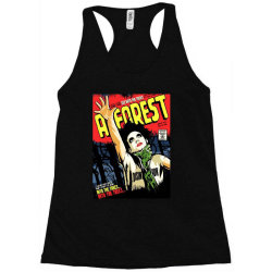 into the trees into the forest Racerback Tank   Artistshot