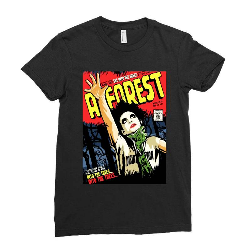 Into The Trees Into The Forest Ladies Fitted T-shirt   Artistshot