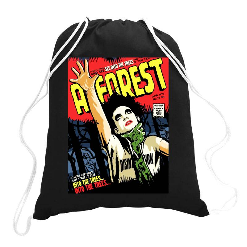 Into The Trees Into The Forest Drawstring Bags | Artistshot
