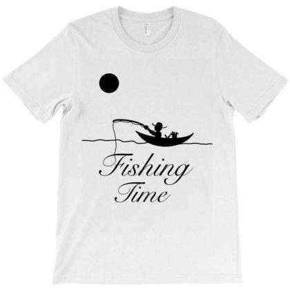 Fishing Time T-shirt Designed By Kani_design