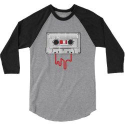 MUSIC VINYL TAPE CASSETTE 3/4 Sleeve Shirt | Artistshot