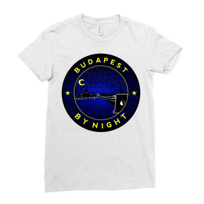 Budapest Ladies Fitted T-shirt Designed By Zig Street