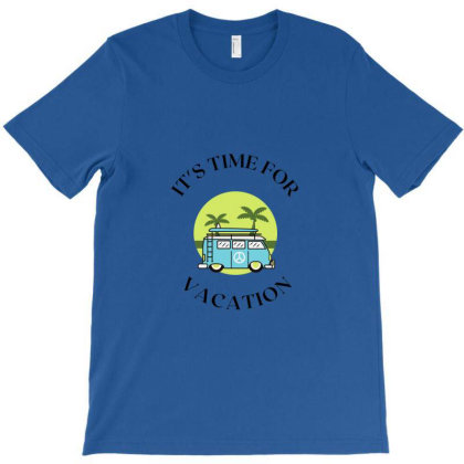 It's Time For Vacation T-shirt Designed By Artmaker79
