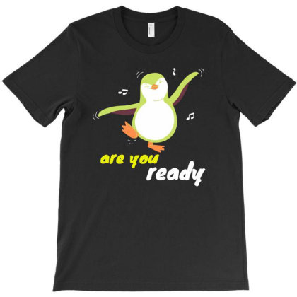 Funny Penguin T-shirt Designed By Slowllymann