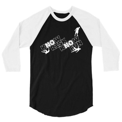 Know Risk 3/4 Sleeve Shirt Designed By Toldo