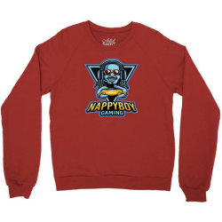 nappy boy gaming Crewneck Sweatshirt | Artistshot
