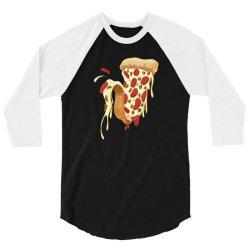 new york style pizza 3/4 Sleeve Shirt | Artistshot