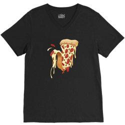 new york style pizza V-Neck Tee | Artistshot