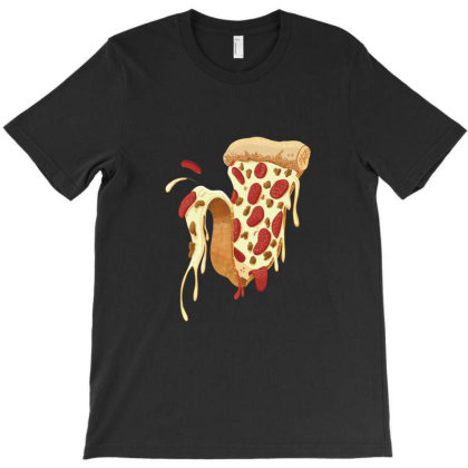 New York Style Pizza T-shirt Designed By Everys