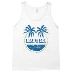 pacifico palm trees Tank Top   Artistshot