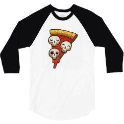 pizza skullgioni 3/4 Sleeve Shirt | Artistshot