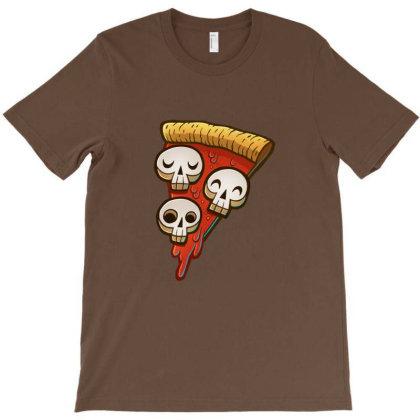 Pizza Skullgioni T-shirt Designed By Everys