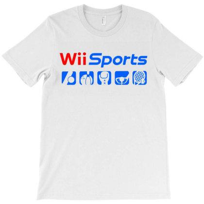 Wii Sports T-shirt Designed By Leo Art