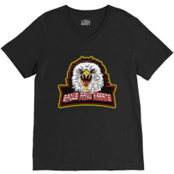 eagle fang V-Neck Tee | Artistshot