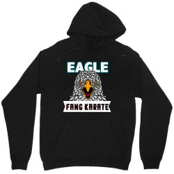 eagle fang karate funny Unisex Hoodie | Artistshot