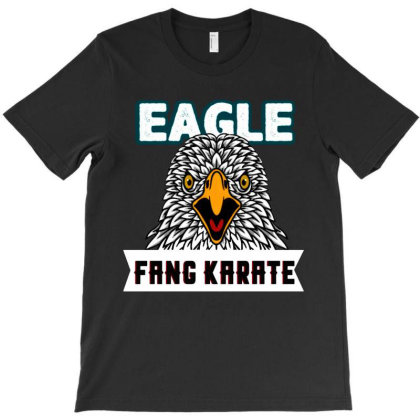 Eagle Fang Karate Funny T-shirt Designed By Nindy Tees