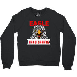 eagle fang karate funny Crewneck Sweatshirt | Artistshot
