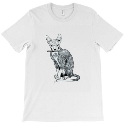 My Cat Is Gangster T-shirt Designed By Es427