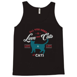 Love and cats Tank Top | Artistshot