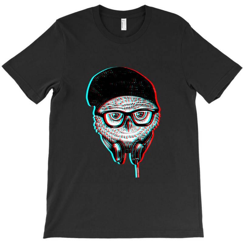 Hipsters  Owl T-shirt   Artistshot