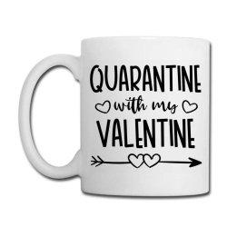 Quarantine With My Valentine Day Coffee Mug Designed By Samlombardie
