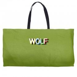 wolf Weekender Totes | Artistshot