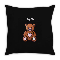 Sell Valentine's Day - Hug Me Throw Pillow Designed By Kamim.rogers