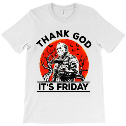 Thank God It's Friday T-shirt Designed By Kevin Design