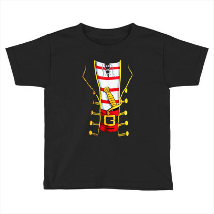 Pirate Buccanneer Toddler T-shirt Designed By Dorothy Tees