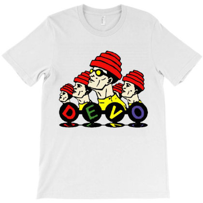 Devo Retro T-shirt Designed By Kevin Design