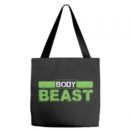 Body Beast Tote Bags Designed By Tshiart