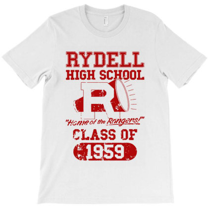 Rydell High School 1959 T-shirt Designed By Kevin Design