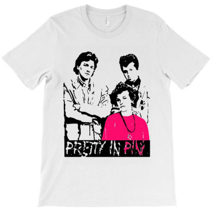 Pretty In Pink 80s Movie Romantic T-shirt Designed By Kevin Design