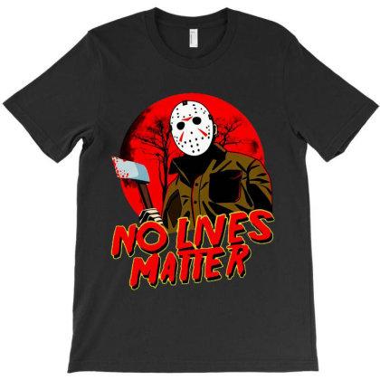 No Lives Matter Blood Moon Horror T-shirt Designed By Kevin Design