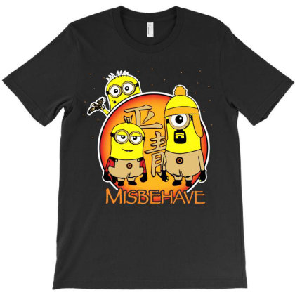 Misbehave T-shirt Designed By Kevin Design
