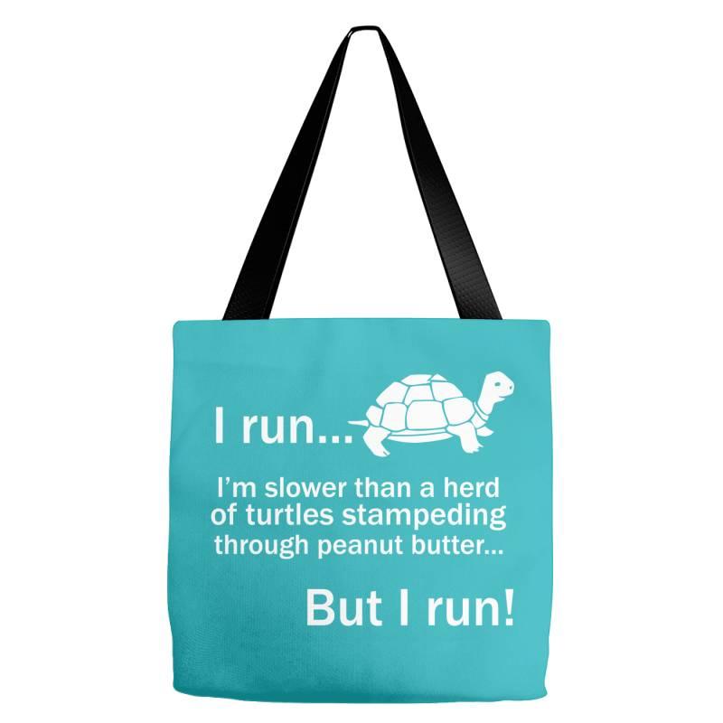 I Run Tote Bags | Artistshot
