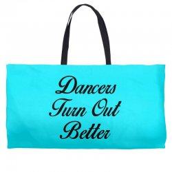 dancers turn out better Weekender Totes   Artistshot