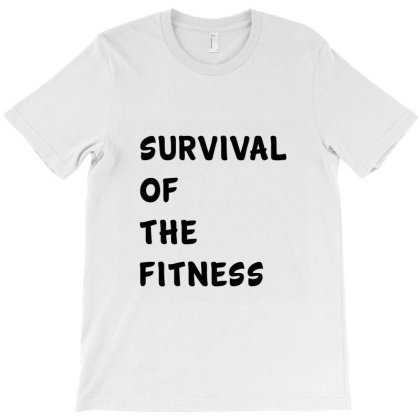 Survival Of The Fitness , Funny Classic T Shirt T-shirt Designed By Moon99