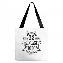 vintage-dud-32-years Tote Bags | Artistshot