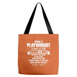 being a playwright Tote Bags | Artistshot