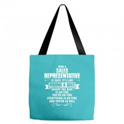 being a sales representative Tote Bags | Artistshot