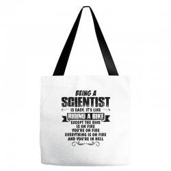 being a scientist copy Tote Bags   Artistshot
